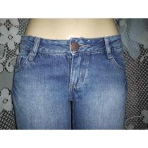 Calça Jeans Taco Boot Cut ( Boca De Sino ) Flare Tamanho 40