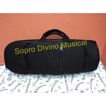 Capa Bag Extra Luxo Para Trompete Sib / Do
