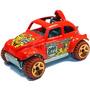 Volkswagen Baja Beetle Fusca 2011 Hot Wheels #214 Lacrado