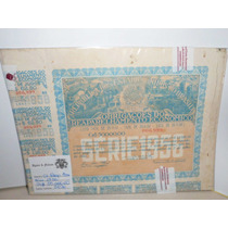 Apolice Reaparelhamento Economico Serie 1956 Crs50.000, Lca