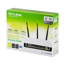 Access Point Cliente Repetidor Tp-link Tl-wa901nd 3 Antenas