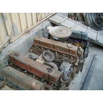 Motor De Opala 6 Cilindros - Parcial Bloco Pistão Cabeçote