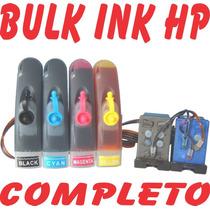 Bulk Ink Hp Cartucho 60 F4480 C4780 C4680 D1660 D110a F4280
