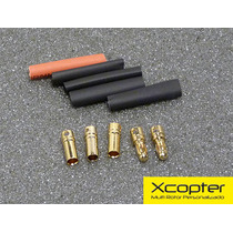 Kit De Conectores Bullets 3,5mm Para Esc