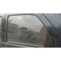 Vidro Da Porta Traseira Esquerda Fiat Palio Fire 2001