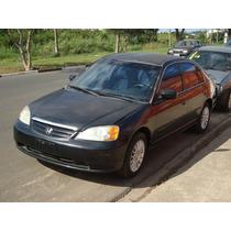 Peças Para Honda Civic, Motor 1.7, Sucata De Honda Civic Lx