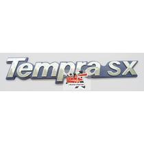 Emblema Tempra Sx (azul) - Mmf Auto Parts.