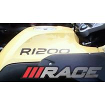 Par De Adesivo R1200 Para Lateral Carenagem Moto Gs Bmw