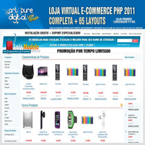 Mega Loja Virtual Ecommerce 2011 Completa Php + 65 Layouts
