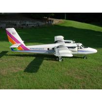 Planta Do De Havilland Canada Dhc-6 Twin Otter Gigante Giant