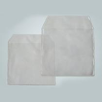 100 Envelope Plastico Grosso C/ Aba P/ Cd/dvd Fosco/liso
