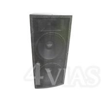 Pa (caixa De Som) 2x15+ti 700 Watts Rms Oversound Loja 4vias