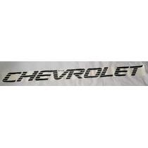 Faixa Chevrolet Preto - D20 Luxo Mmf Auto Parts