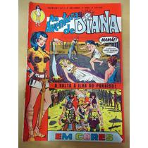 As Aventuras De Diana Nº 01 Em Cores - Ebal - Mulher Maravil