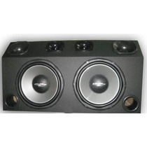 Caixa Automotivo Trio 720 Watts 2 Sub + 2 Tweeter +2 Corneta