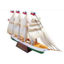Barco A Vela Chileno Esmeralda Navio Pesca Mar Porto Oceano