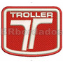 Car021 Troller Rallye Patch Bordad Fórmula F1 Kart Stock Car