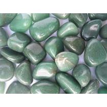 Frete Gratis - Pedras Roladas Quartzo Verde 10 Pçs