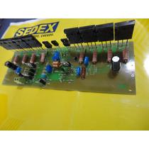 Placa Pci Amplificador 500w Montado 4 Oms/gradiente-cce