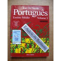 Português José De Nicola Ensino Médio Volume 3 P1