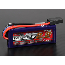 Bateria Turnigy Nano-tech 2200mah 2s 40~80c Lipo Pack