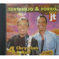 Chrystian E Ralf Cd Sertanejo E Forro No Jt