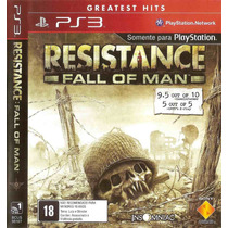 Resistance Fall Of Man Ps3 Novo Lacrado Original Sony Brasil