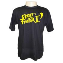 Camiseta Street Fighter Ii Panico Engraçada Sátiras