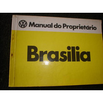 Brasilia Manual Do Proprietario Original