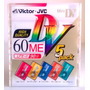 Mini Dv 60 (5 Cores) Victor Jvc Japan Com 5 Lacrado