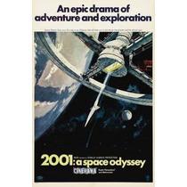 Poster Cartaz 2001: Uma Odisséia No Espaço #7