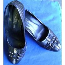 Sapato Feminino Ana Torres Preto N. 36 (c3g4)