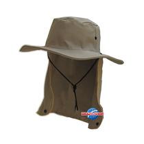 Chapéu Com Protetor De Nuca Ajuda Proteger Da Dengue E Zica