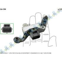 Regulador De Voltagem Ford Fiesta 14v Campo Positivo - Gauss