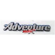 Emblema Adventure Fundo Azul - Mmf Auto Parts