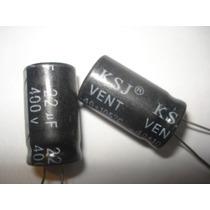 Capacitor Eletrolítico 22uf X 400v 105° 5 Pçs Frete Grátis