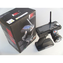 Rádio Controle Skyfly 2.4 Ghz -3.9 Lcd- Tx&rx - Afhds Systen