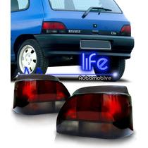 Lanterna Traseira Tuning Renault Clio 96 97 98 99 Fume