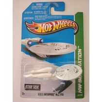 Ncc-1701 Uss Enterprise - Star Trek - 2013 - Hot Wheels