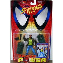 Spider Man Spider Power Spider Sense Peter Parker Toy Biz