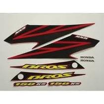 Jogo Adesivos Para Bros Nxr 2003 2004 2005 2006 2007 2008