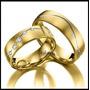 Par Alianças Prata 950 Banho Ouro 18k Zircônias Frete Grátis