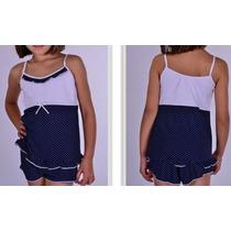 Short Doll Infantil Dois Modelos A Escolha P/m/g/