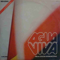 Água Viva Lp Trilha Sonora Internacional Da Novela 1980 Glob
