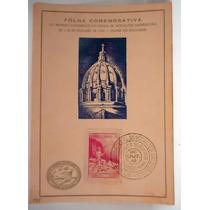 Folhinha Postal Vocações Sacerdotais Out.1949 Salvador Ba