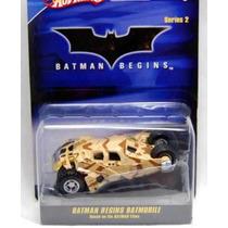 Hot Wheels Batman 1:50 Serie 2 Batman Begins Batmobile