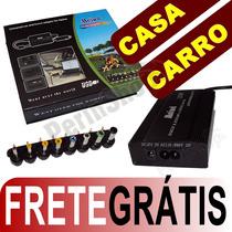 Fonte Universal Notebook Tomada Veicular + Frete Grátis