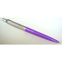 Caneta Esferográfica Parker Jotter - Violeta (gel) - Nova
