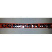 Emblema Confortline -golf Parati Saveiro Polo- Frete Grátis