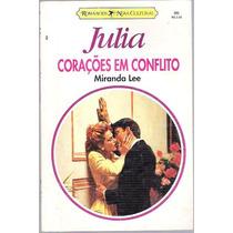 Livro Julia Corações Em Conflito Miranda Lee Nº 995
